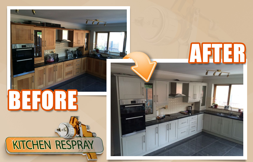How Do You Benefit From Respraying Your Kitchen