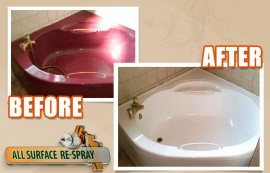 How Does Bath Respraying Work?