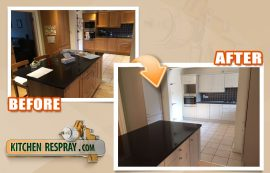 Kitchen Respray Price