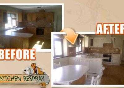 Kitchen Respray Bray