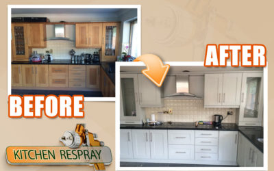 A Guide to Respraying your Old Kitchen