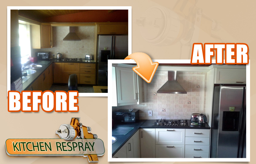 Kitchen Respray Blackrock Co.Dublin
