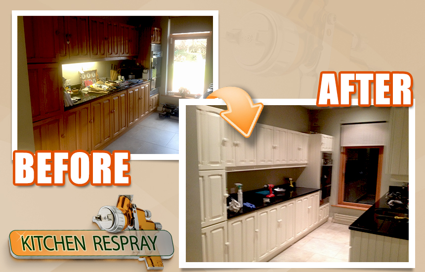 Respray Your Kitchen and Save