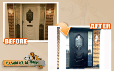 Paint your uPVC door to any colour.