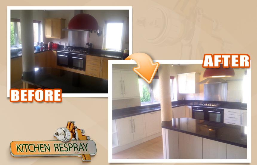 Respray your Kitchen in Dublin