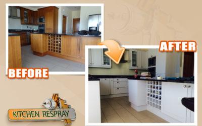 Kitchen Respray Will Rejuvenate Your Kitchen