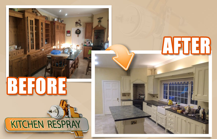 Kitchen Respray Gorey