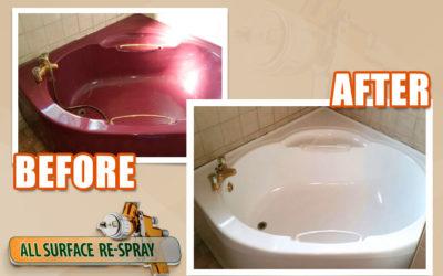 Bath reglazing