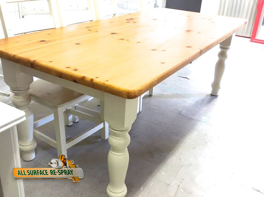 Kitchen respray- Helps make old furniture look brand new again