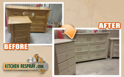 Don't hand paint furniture !