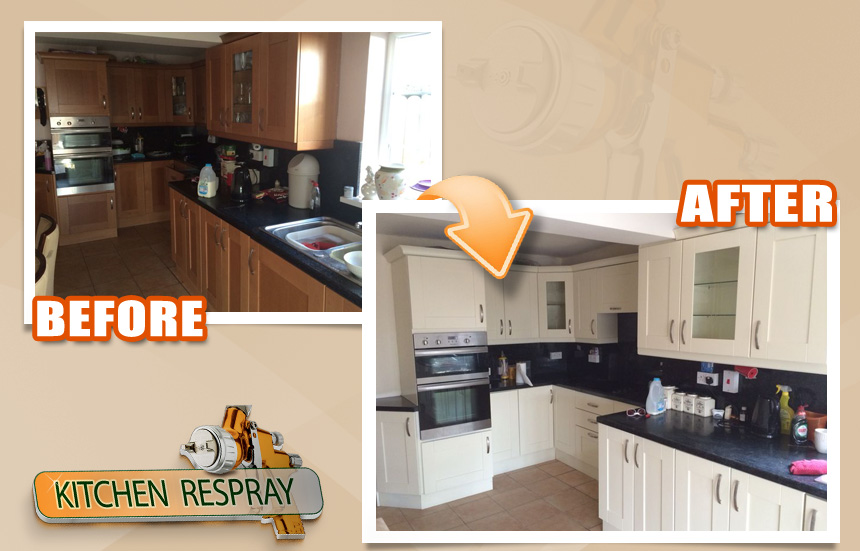 Kitchen Respray Service