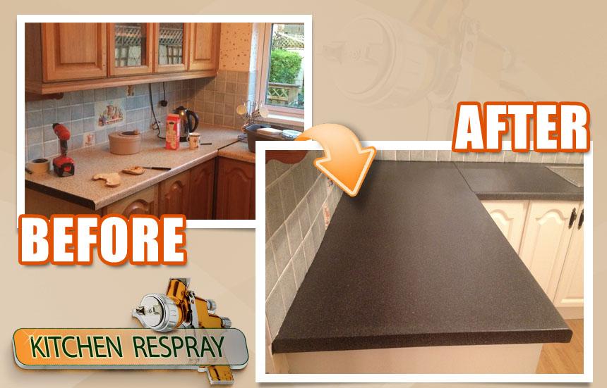 Kitchen-countertop-resurface-to-black
