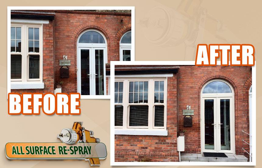 Can You Paint Upvc Doors >> Upvc All Surface Respray