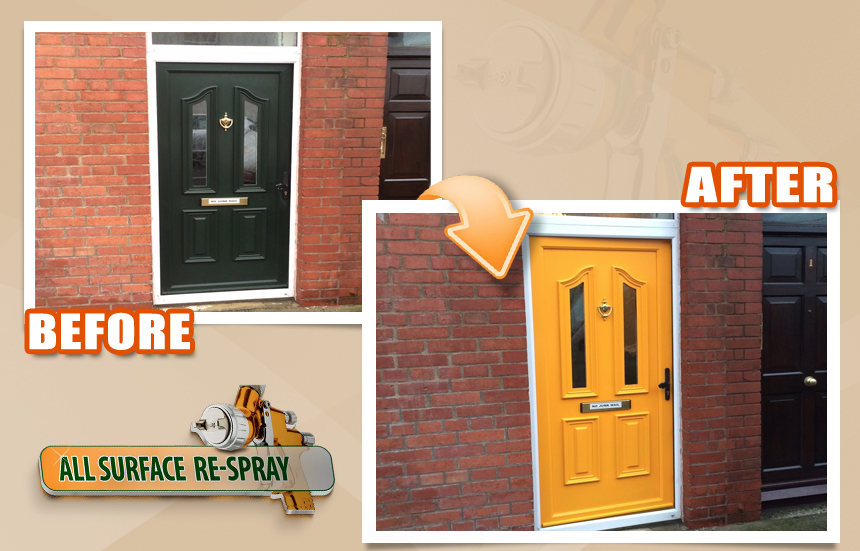 PVC windows & Doors Respray